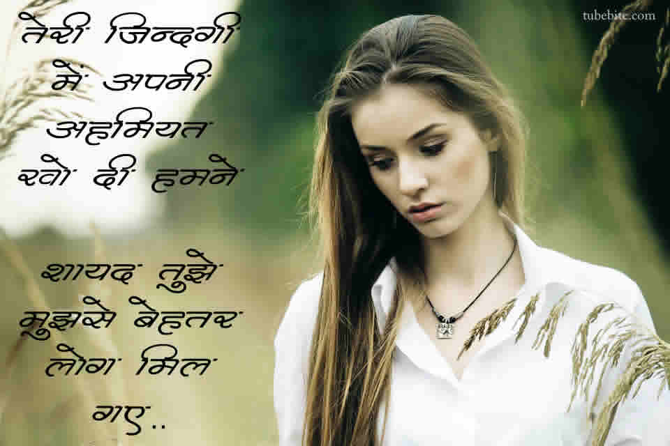 I Will Never Disturb You Again Quotes in Hindi